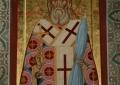 Икона свт. Иннокентия Московского с частицей мощей