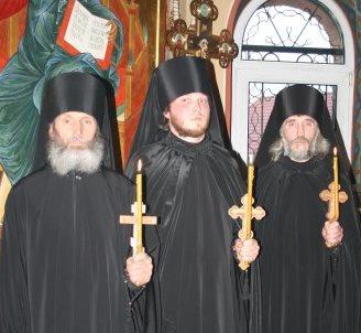 Монашеский постриг 19 апреля 2013 года