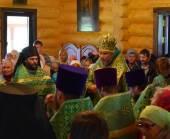 Архиерейское богослужение в скиту