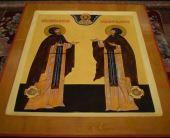 Освящение храма в честь святых благоверных Петра и Февронии
